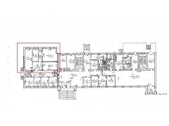 Офис свободной планировки 91.1 м2